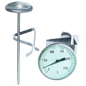 TOM-GAST Termometr do głębokiego tłuszczu | 0°C do +250°C