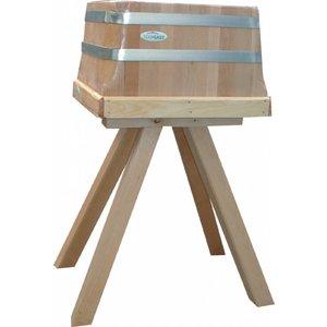 TOM-GAST Tradycyjny kloc masarski na drewnianej podstawie