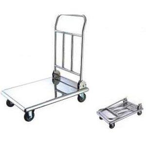Verlo Wózek składany platformowy, nierdzewny | 48x87x74cm