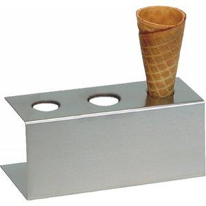 TOM-GAST Stojak do lodów | prostokątny