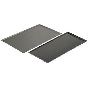 de BUYER Aluminiowa blacha non-stick - ukośne krawędzie | GN 1/1