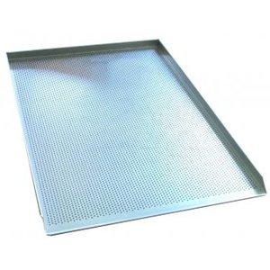 TOM-GAST Blacha aluminiowa 3 rantowa, perforowana - proste krawędzie | 40x60cm