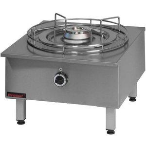 Kromet Taboret gazowy | 9,0 kW | 590x650x410 mm