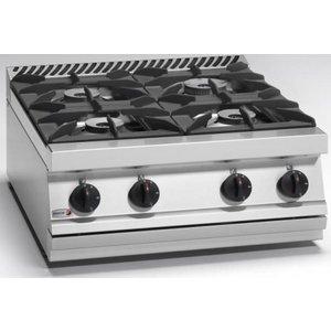 Fagor Küche 4-Flammen-Gasherd | 32,6 kW