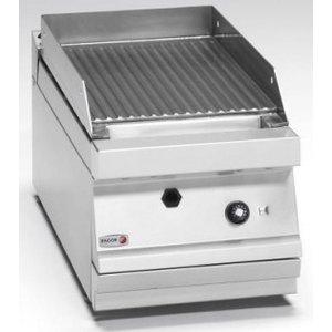 Fagor Geribbelde grillplaat met thermostaat | Gas | 6,3kW
