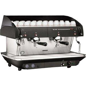 FAEMA Semi-automatische espresso druk AMBASSADEUR | 2-groep | 6.1 kW