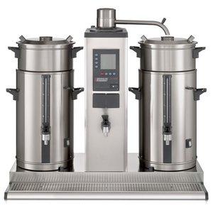 BRAVILOR BONAMAT Koffie overloop voor montage aan de muur | de vergister | 1 brew systeem | 2 thermoskannen 5L