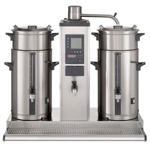 BRAVILOR BONAMAT Koffie overloop van vergister   1 brew systeem   2 thermoskannen 10L