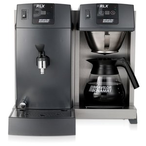 BRAVILOR BONAMAT Koffie overflow Buffet | 1 brew systeem | 1 kookplaat | 1 jug | ketel
