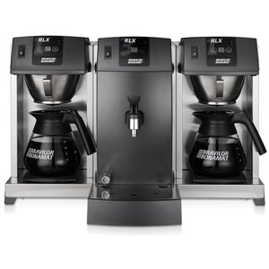 BRAVILOR BONAMAT Coffee overflow Buffet | 2 brew system | 2 hobs | 2 beakers | boiler