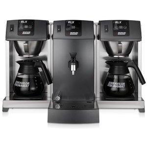 BRAVILOR BONAMAT Koffie overflow Buffet | 2 brew systeem | 2 kookplaten | 2 bekers | ketel