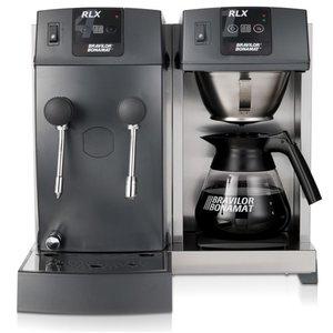 BRAVILOR BONAMAT Koffie overflow Buffet | 1 brew systeem | 1 kookplaat | 1 jug | systeem van de hete stoom / water