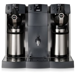 BRAVILOR BONAMAT Overflow Espresso | 2 brewing systems, + cooker | 30L / h