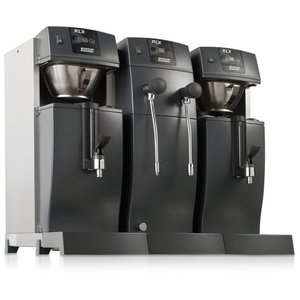 BRAVILOR BONAMAT Overflow Espresso | 2 brewing systems | 2 containers 2L | 26L / h