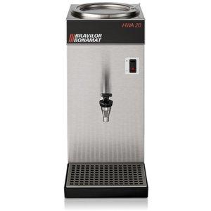 BRAVILOR BONAMAT Vergisters water thermostaat | Water aansluiten | 3L | 18L / h