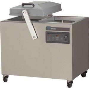 Henkelman Maszyna pakująca   2 x 450 mm   580 x 450 x 235mm   63 m3/h   15-40 sec