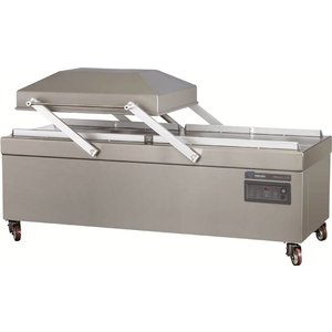 Henkelman Packing machine   2 x 1100 mm   730 x 1100 x 280mm   300 m3 / h   15-40 sec