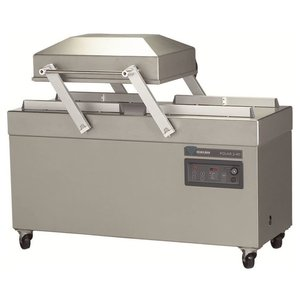 Henkelman Packing machine   2 x 620 mm   400 x 620 x 240mm   63 m3 / h   15-40 sec