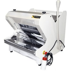 Sofinor Bread slicer | Semi-automatic | A top-loading | 490W | White