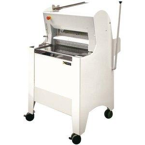 Sofinor Broodsnijmachine | Semi-automatische | geladen vanaf de achterzijde | 550W | Wit