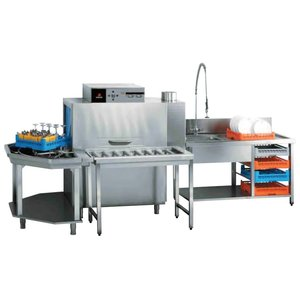Fagor Tunnel dishwasher Electric | drying tunnel + 2 tables