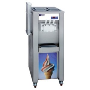 Diamond Italian ice-cream machine | 2 flavors + mix | 30kg / h