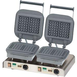 Neumarker Waffle Doppel | Lorraine Waffle | 400V / 4,4kW