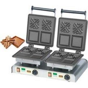Neumarker Waffle double   X-Waffle   400V / 4,4kW