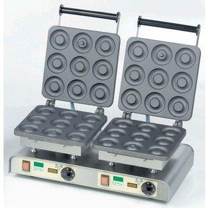 Neumarker Wafel dubbel | Dony Donut | 400V / 4,4kW