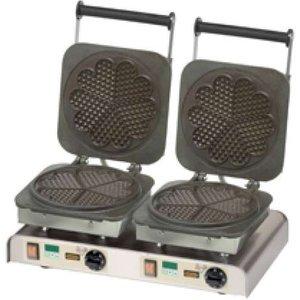Neumarker Dubbel wafelijzer   Hart Waffle   400V / 4,4kW
