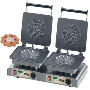 Neumarker Gofrownica podwójna | Heart Waffle L | 400V / 4,4kW