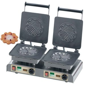 Neumarker Waffle double | Heart Waffle L | 400V / 4,4kW