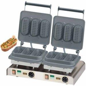Neumarker Gofrownica podwójna | Baguette Waffle | 400V / 4,4kW