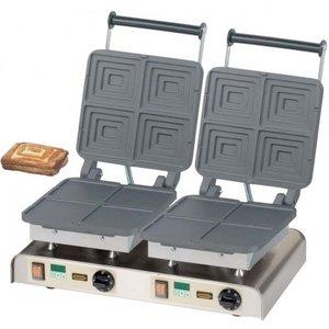 Neumarker Double waffle iron | Sandwich 400V / 4.4kW