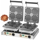 Neumärker Gofrownica podwójna | Waffle Tart | 400V / 4,4kW