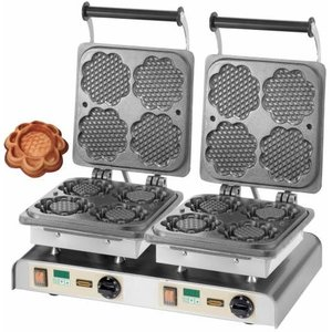 Neumärker Gofrownica podwójna   Waffle Tart   400V / 4,4kW
