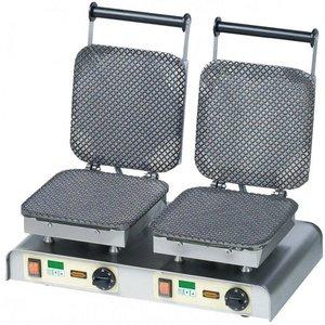 Neumarker Gofrownica podwójna | Ice Waffle | 400V / 4,4kW