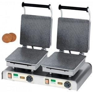 Neumarker Wafel dubbel | Stroop wafel | 400V / 4,4kW