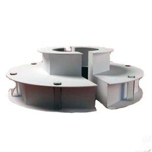 Optimal Platform voor chocolade fonteinen CF112 CF135 PRO en PRO