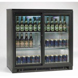 Diamond Bottle cooler, 2 sliding doors, 196 liters