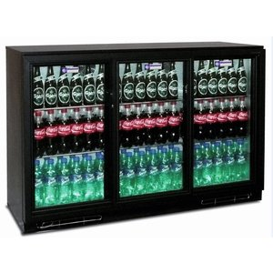 Diamond Flaschenkühlschränk, 3 Schiebetüren, 343 Liter