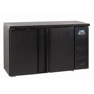 Diamond Stół chłodniczy barowy - 2 drzwiowy - 1462x513x860 - 290 litrów