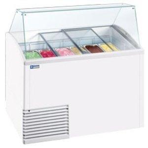 Diamond Ice cream display case, 10 trays