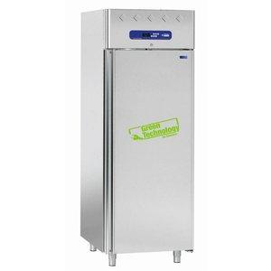 Diamond Kühlschrank für Fisch - 1 Tür GN 1/1 - 10 Container - 700 l