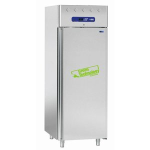 Diamond Ventilated refrigerator for fish 700 liters, 1 door GN 1/1 (10 trays)