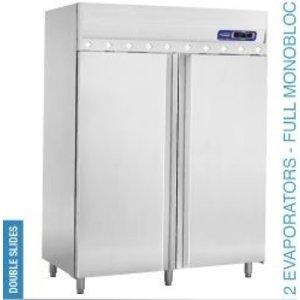 Diamond Ventilated refrigerator 1400 liters 2 doors GN 2/1