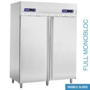 Diamond Ventilated freezer and refrigerator 2x 700 liters, 2 doors GN 2/1