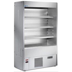 Diamond Bücherregal mit Kühlung Lüftung | + 4 ° + 8 ° | 700x547x1925