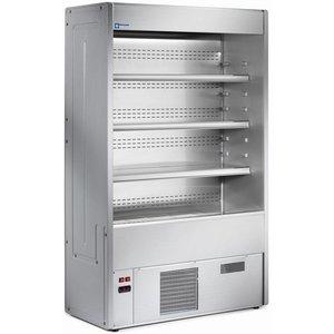 Diamond Bücherregal mit Kühlung Lüftung | + 4 ° + 8 ° | 1500x547x1925