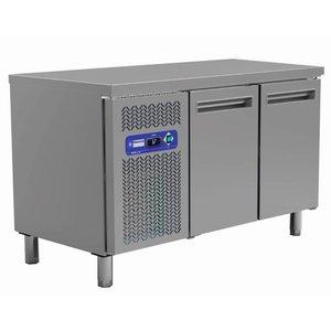 Diamond Koelwerkbank | 2 deurs - 260 Liter | 0° +8°C